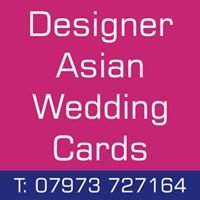 Designer Asian Wedding Cards