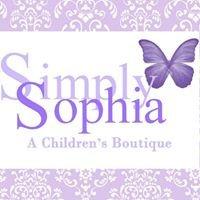 Simply Sophia, A Children's Boutique