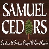 Samuel Cedars Outdoor & Indoor Wedding Chapel & Event Center