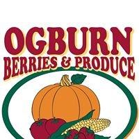 Ogburn Berries and Produce
