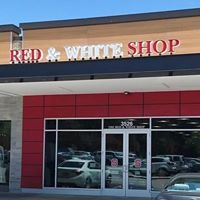 Red and White Shop