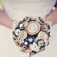 Funky Poppy Button Bouquets