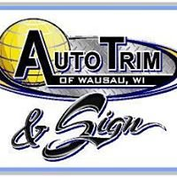 Auto Trim and Sign of Wausau