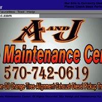 A and J Auto Maintenance Center