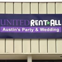 United Rent-All: Austin's Party & Wedding Headquarters