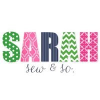 Sarah Sew and So