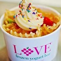 LOVE Frozen Yogurt Bar