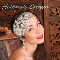 Helena's Crown. Bespoke wedding tiaras, jewellery, fascinators.