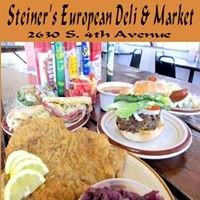 Steiner's European Deli & Market Menu