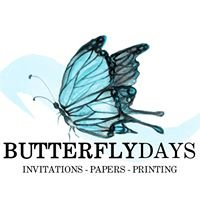 Butterfly Days - Invitations, Papers, Printing