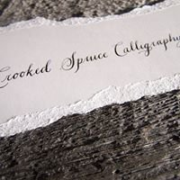 Crooked Spruce Calligraphy