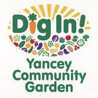 Dig In! Yancey Community Garden