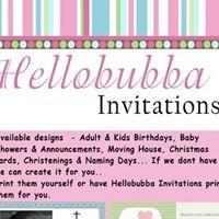 Hellobubba Invitations