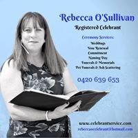 Rebecca O'Sullivan Celebrant