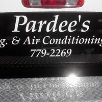 Pardee's Refrigeration and Air Conditioning, Inc.
