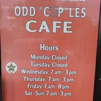 odd cuples cafe