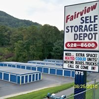 Fairview Self Storage Depot & Moving Truck Rentals in Asheville, NC