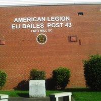 American Legion Post # 43 Fort Mill S.C.