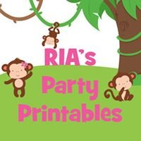 RIA's Party Printables