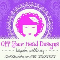 OFF YOUR HEAD DESIGNS - fascinators, hair clips & accessories