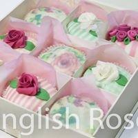 English Roses- Vintage Cupcakes & Cookies
