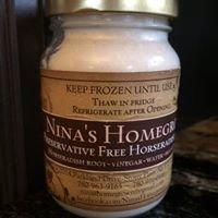 The Garlic Keeper & Nina's Homegrown Horseradish Sauce
