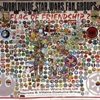 """World Wide Star Wars Fan Groups """"flag of Friendship"""""""