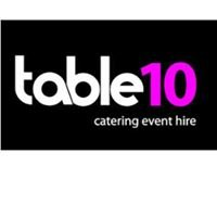 Table 10 Catering Event Hire