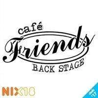 Café Friends Backstage