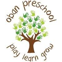 Oban pre school