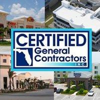 Certified General Contractors, Inc.