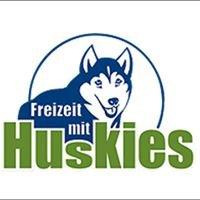 Freizeit mit Huskies