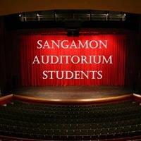 Sangamon Auditorium Students