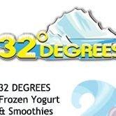 32 Degrees Frozen Yogurt & Smoothies