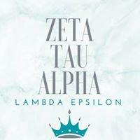Zeta Tau Alpha - Lambda Epsilon