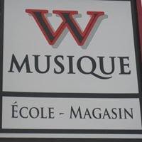 W musique école et magasin