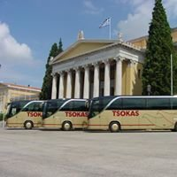 TSOKAS G. SA.  Coaches / Tourist Buses / Car rental