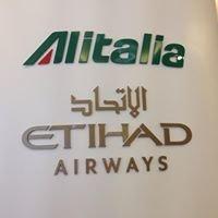 Alitalia and Etihad Pavilion at Expo Milano