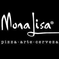 Mona Lisa: pizza . arte . cerveza
