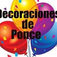 Decoraciones de Ponce