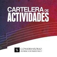 Cartelera de Actividades del Conservatorio de Música