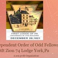 Mt Zion Lodge 74