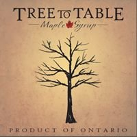 Tree to Table Maple Syrup