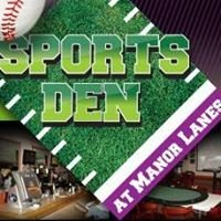 Manor Lanes Bowling/ Sports Den Pub