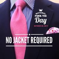 A Tie That Binds - National Pink Tie Day