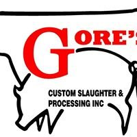 Gore's Custom Slaughter & Processing