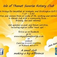 The Rotary Club of The Isle of Thanet Sunrise