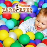 BigTop Playhouse & Yard Apes Playground