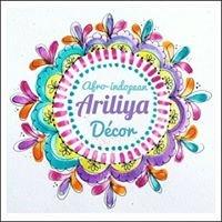 Ariliya: Afro-Indopean  Décor