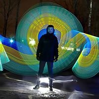 Light Painting Design Photography